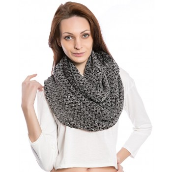 Women's Fashion Black Scarf