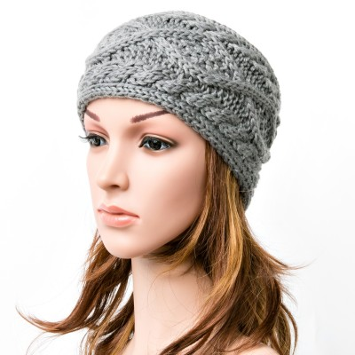 Women's Eight Pattern Knitted Head Wrap