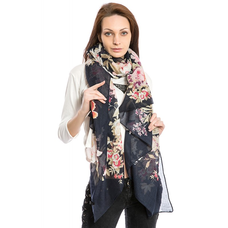 Women's Fashion Floral Scarf